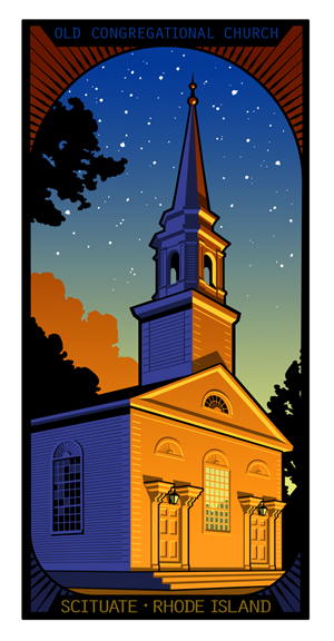 Old Congregation Church - Scituate